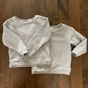 Oshkosh B'Gosh sweatshirt with rhinestone detail